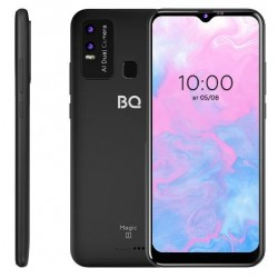 "Смартфон BQ BQ-6630L Magic L Black 2sim/6.53""/1600*720/8*1.6+1.2ГГц/3Gb/32Gb/mSD/12+0.3Мп/NFC/And10/4920mAh"