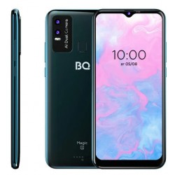 "Смартфон BQ BQ-6630L Magic L Deep Blue 2sim/6.53""/1600*720/8*1.6+1.2ГГц/3Gb/32Gb/mSD/12+0.3Мп/NFC/And10/4920mAh"