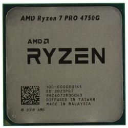Процессор AMD AM4 Ryzen 7 Pro 4750G (8ядер/16потоков*3,6ГГц-4,4ГГц,8Мб,Vega8,65Вт,oem)