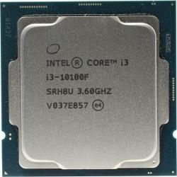 Процессор 1200 Intel Core i3-10100F (4ядра/8потоков*3,6ГГц-4,3ГГц,6Мб,65Вт,oem)