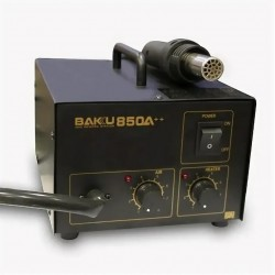 Паяльная станция BAKU BK-850A++, фен компрессорный 100..480°С, 320вт