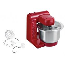Кухонный комбайн Bosch MUM44R1 Red 500Вт, 3.9л, 3 насадки