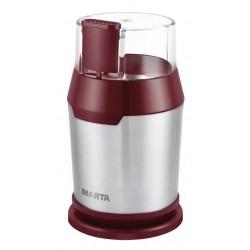 Кофемолка Marta MT-2168 R/Gt 250Вт, вместим. 50г, ротационный нож, пластик