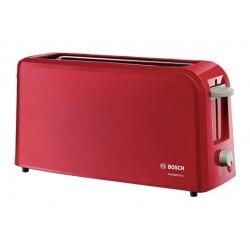Тостер Bosch TAT 3A004 Red 980Вт, электронное управление