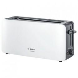 Тостер Bosch TAT 6A004 White/Black 1090Вт, механическое управление