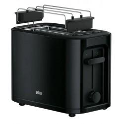 Тостер Braun HT 3010 Black 1000Вт, механическое управление