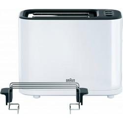 Тостер Braun HT 3010 White 1000Вт, механическое управление