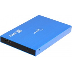 "Внешний бокс для HDD 2.5"" USB 3.0  Gembird EE2-U3S-56 синий металлик,алюминий"