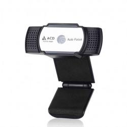 Веб-камера ACD-Vision UC600 CMOS 5МПикс, 1920x1080p, 30к/с, автофокус, микрофон встр., USB 2.0, шторка объектива, универс. крепление, черный корп