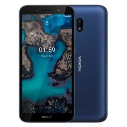 "Смартфон Nokia C1 PLUS DS TA-1312 Blue 2sim/5.45""/1440*720/4*1.4ГГц/1Gb/16Gb/mSD/5*5Мп/And Q Go/2500mAh"