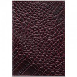 """Обложка для паспорта OfficeSpace """"Сагат"""" кожа, рубиновый 254232"""