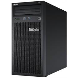 "Lenovo ThinkSystem ST50 Tower 4U, 1xIntel Core i3-8100 4C(65W/3.6GHz), 1x16GB/2666MHz/2Rx8/1.2V UDIMM, 2x1TB 3,5"" HDD, SW RAID, noDVD, 1x2.8m Line Cord, 1GbE, 1x250W p/s, Warranty 3 Year"