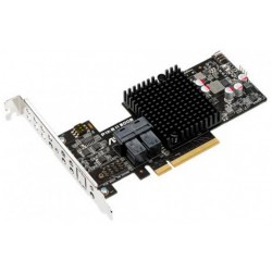 ASUS PIKE II 3008-8I 8 портов, LSI SAS 3008, RAID 0/RAID 1/RAID 10/RAID 1E , до 12GB/S