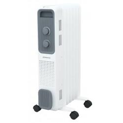 Масляный радиатор Royal Clima Bergamo ROR-B7-1500M 1500Вт, 20кв.м, 7 секций, регул. темп., термост
