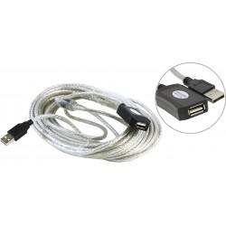 Кабель удлинительный USB2.0 AA 10м Aopen/Qust ACU823-10M активный