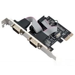 Контроллер PCI-E=>Comx2 MS9922 oem