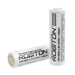 Аккумулятор Li-FePO4 Robiton 18650 1100mAh /без защиты