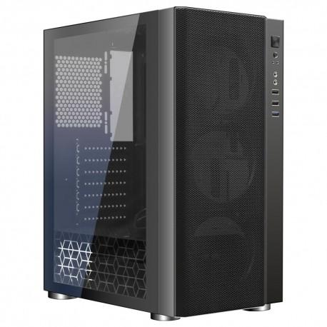 Корпус ATX Ginzzu CL180 (USB3.0,Audio,WN,черный)