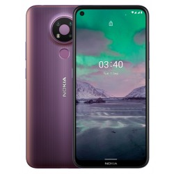 "Смартфон Nokia 3.4 3/64Gb Purple 2sim/6.39""/1560*720/8*1.8ГГц/3Gb/64Gb/mSD/13+5+2Мп/And10/4000mAh"