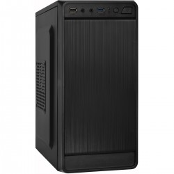 Корпус mATX Exegate BAA-108U-400W-8 (USB3.0,Audio,черный,Б/П 400w)