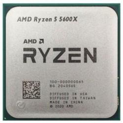 Процессор AMD AM4 Ryzen 5 5600X (6ядер/12потоков*3,7ГГц-4,6ГГц,32Мб,65Вт,oem)