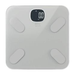 Умные весы HIPER IoT Body Composition Scale/Max.Вес 180кг/Точность 0.1кг/Питание 3ААА/HIS-BC001