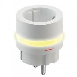 Умная розетка HIPER IoT P05 LED подсветкой/Wi-Fi/AC 100-250В/10А/50-60 Гц/HI-P05