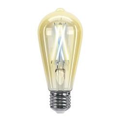 Умная лампочка HIPER IoT ST64 Vintage/LED/Wi-Fi/Е27/7Вт/2700К-6500К/600lm/Тонировка/HI-ST64FIV