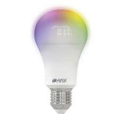 Умная лампочка HIPER IoT A61 RGB/LED/Wi-Fi/Е27/12Вт/2700К-6500К/1020lm/HI-A61 RGB