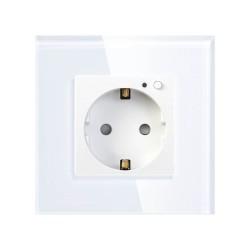 Умная встраиваемая розетка HIPER IoT OUTLET W01/1 модуль/Wi-Fi/AC 100-250В/10А/50-60 Гц/2500Вт/HDY-OW01