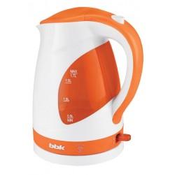 Чайник BBK EK1700P White/orange (2200Вт,1.7л,пластик,закрытая спираль,LED подсветка)
