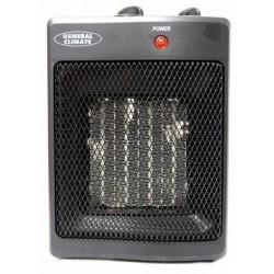 Тепловентилятор General Climate KRP-2AB 1500Вт, 15кв.м, керамический, напольный, черный.