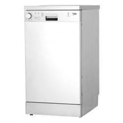 Посудомоечная машина Beko DFS 05012 S Silver 1800Вт, отдельно стоящая, расход воды 13л, 5 прог., 44.8