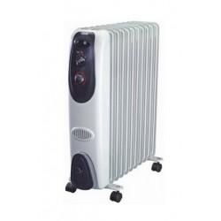 Масляный радиатор General Climate NY 23LA 2300Вт, 23кв.м, 11 секций, регул. мощ. напольный, термостат.