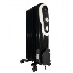 Масляный радиатор General Climate NY 18J 1800Вт, 18кв.м, 9 секций, регул. мощ. напольный, термостат.