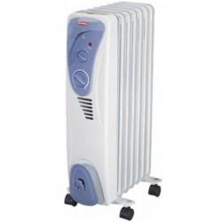 Масляный радиатор General Climate NY 18AR 1800Вт, 18кв.м, 9 секций, регул. мощ. напольный, термостат.