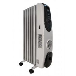 Масляный радиатор General Climate NY 17LF 1700Вт, 17кв.м, 7 секций, регул. мощ. напольный, термостат.