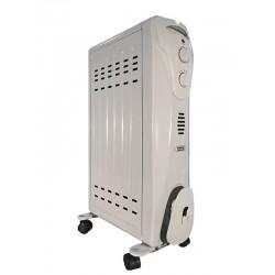 Масляный радиатор General Climate NY 16CA 1600Вт, 15кв.м,7 секций, регул. мощ. напольный, термостат.