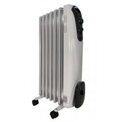 Масляный радиатор General Climate NY 15M 1500Вт, 15кв.м, 9 секций, регул. мощ. напольный, термостат.