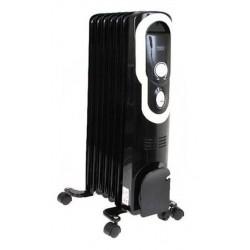 Масляный радиатор General Climate NY 12J 1200Вт, 10кв.м, 7 секций, регул. мощ. напольный, термостат.