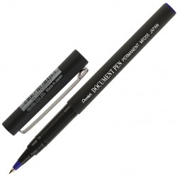 Ручка роллер PENTEL Document Pen, СИНЯЯ, узел 0,5мм, линия 0,25мм, MR205