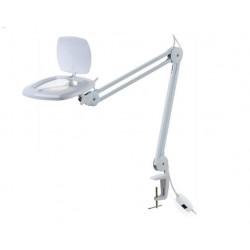Лупа-лампа настольная ZD-142A, 17.4*10.8см, 3x, 80Led, на струбцине