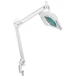 Лупа-лампа настольная 8609D, 19*15.7см, 3x, 2*9вт люминесцентная, на струбцине
