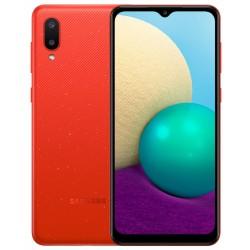 """Смартфон Samsung Galaxy A02 SM-A022 Красный 2sim/6.5""""/1600*720/4х1.5ГГц/2Gb/32Gb/mSD/13+2МП/And10/5000mAh"""