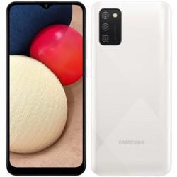 "Смартфон Samsung Galaxy A02s SM-A025F Белый 2sim/6.5""/1600*720/8х1.8ГГц/3Gb/32Gb/mSD/13+2+2МП/And10/5000mAh"