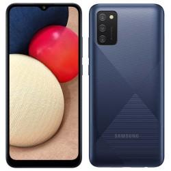 "Смартфон Samsung Galaxy A02s SM-A025F Синий 2sim/6.5""/1600*720/8х1.8ГГц/3Gb/32Gb/mSD/13+2+2МП/And10/5000mAh"