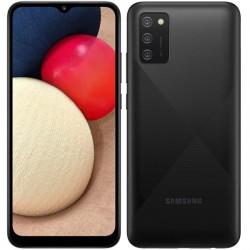 "Смартфон Samsung Galaxy A02s SM-A025F Черный 2sim/6.5""/1600*720/8х1.8ГГц/3Gb/32Gb/mSD/13+2+2МП/And10/5000mAh"