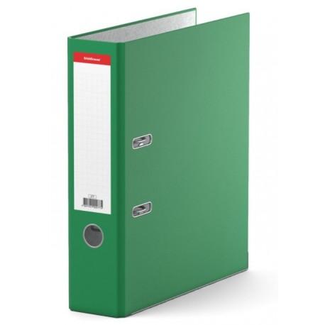 "Папка-регистратор 70мм. Erich Krause ""Стандарт"" мет. кант, зеленая (277)"