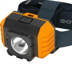 Фонарь налобный Фотон RSH-700, LED, 3вт, IP54, 3*AAA в комплекте