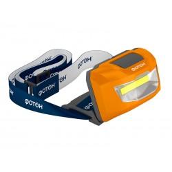 Фонарь налобный Фотон SH-600, LED, 3вт, 3*AAA в комплекте